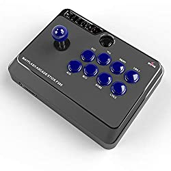 Compatible with PS4 PS3 XBOX ONE XBOX360 PC Android Switch NeoGeo mini Compatible with Sanwa Denshi buttons and joystick that is perfect for customization Supports the XINPUT and DINPUT when being used on PC A SONY PS4 Controller is required when usi...