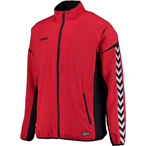 hummel 033551 Jacket, Hombre, Rojo, M
