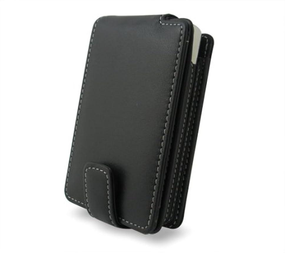 艶前部ボーナスミヤビックス PDAIR Leather Case for iPod classic/5G 縦開きタイプ ブラック PALCIPD5F/BL
