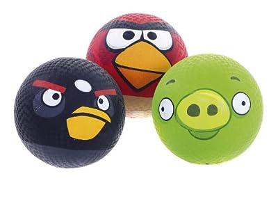 Commonwealth Toys Angry Birds - Black Bird 3 Inch Foam Ball