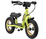 BIKESTAR Kinder Laufrad Lauflernrad Kinderrad für Jungen und Mädchen ab 2-3 Jahre ★ 10 Zoll Classic Kinderlaufrad ★ Grün