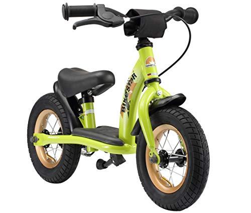 BIKESTAR Vélo Draisienne Enfants pour Garcons et Filles de 2 - 3 Ans | Vélo sans pédales évolutive 10 Pouces Classique | Vert