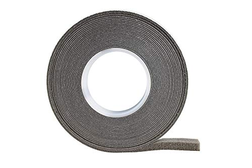 Cinta de compresión 10/3, color gris, 10 m de largo, ancho del rollo: 10 mm, ancho de junta: 3-15 mm, cinta selladora para juntas, cinta de retención.