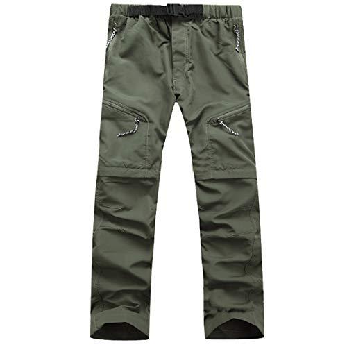 Verano Hombres Pantalones Pantalones ROPOBLE Pantalones DE Carga DE TIENDO Hombres Ropa DE Hombre Army Green XXXL