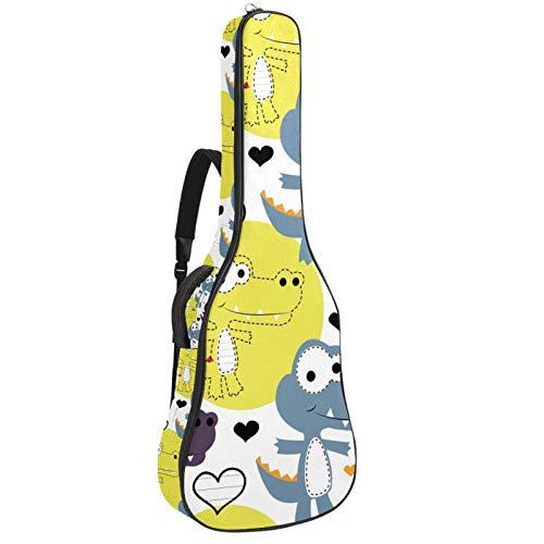 BENNIGIRY AMOR DI COCCOLLO Custodia per chitarra Custodia per chitarra acustica Custodia per chitarra per chitarrista