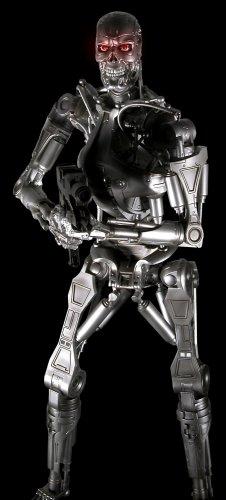 Figura Terminator Endoesqueleto 45 Cms Con Luz en los Ojos