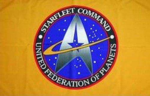 U24 Flagge Fahne Star Trek Starfleet Command 90 x 150 cm