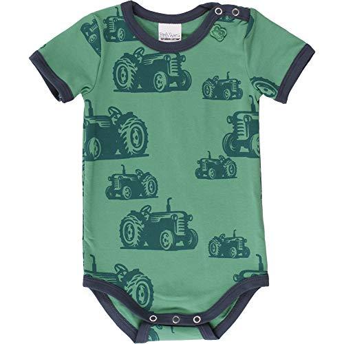 Fred'S World By Green Cotton Farming S/s Body, Vert (Green 018602201), 62 Bébé garçon