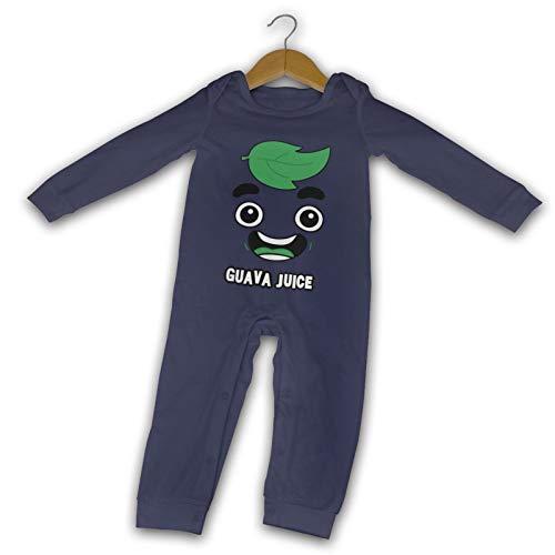 WushXiao Guava Juice Face Long Comfort Baby Crawler schwarz Gr. 18 Monate, navy
