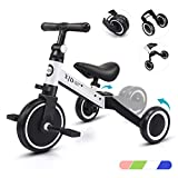 XJD 3 in 1 Kids Tricycles for 1-3 Years Old Kids Trike 3 Wheel...