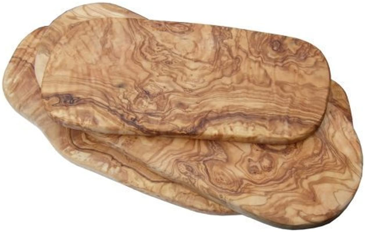 Naturally Med Olive Wood Meat Carving Board Cutting Board 16 L