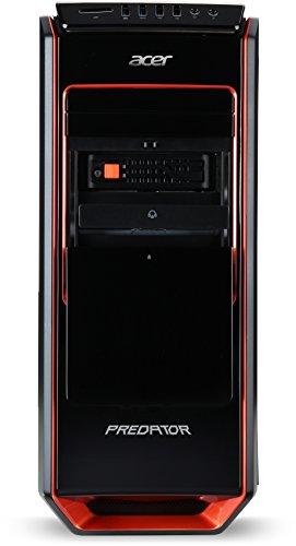 Acer Predator G3-605 Desktop-PC (Intel Core i5-4590, 3,6GHz, 8GB RAM, 1000GB SSHD, NVIDIA GeForce GTX 760, DVD, Win 8.1) schwarz-rot