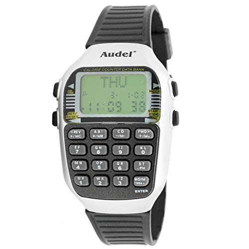 Audel Mc-5101-b Reloj Digital Unisex Caja De Resina Esfera Color Verde