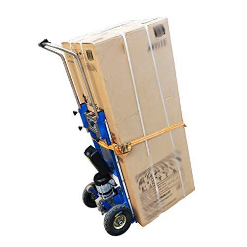 XH-Tool Treppensteigwagen 200kg Tragfähigkeit, elektrische Bodensteigmaschine Handling-Fahrzeug Schweres Gerät Auf und Ab Maschine Laststeigfahrzeug