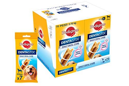 Pedigree Dentastix - Friandises pour grand chien - 70 sticks hygiène bucco-dentaire