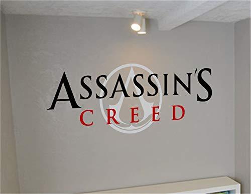 wandaufkleber 3d Wandtattoo Schlafzimmer Assassin's Creed für das Wohnzimmer Schlafzimmer