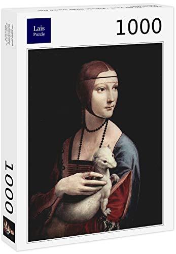 Lais Puzzle Leonardo da Vinci - Ritratto di Una Donna con ermellino 1000 Pezzi