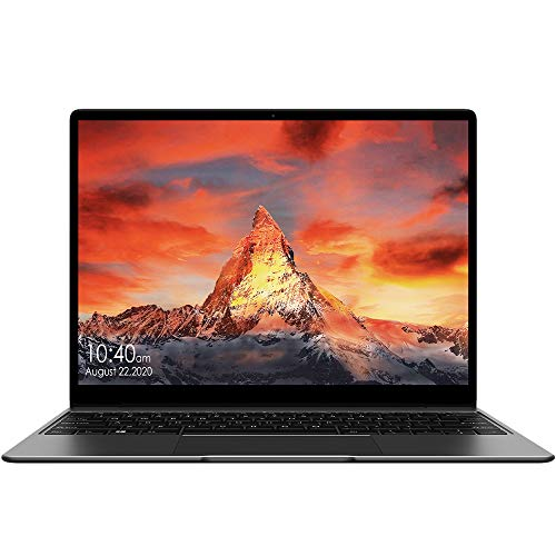 CHUWI GemiBook 13-Inch Laptop, 2K(2160x1440) IPS Display, 12GB RAM, 256GB SSD, Intel Celeron J4115 Processor (Up to 2.5 GHZ), 4K Video Decoding, 2.4G/5G WiFi, Windows 10 Home, Backlit Keyboard