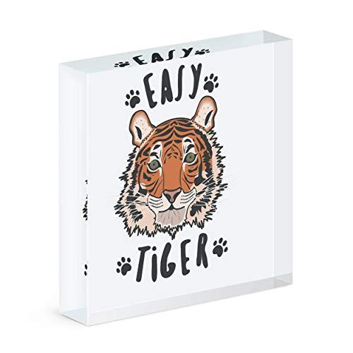 Gift Base Easy Tiger Acrílico Bloque Marco de Fotos
