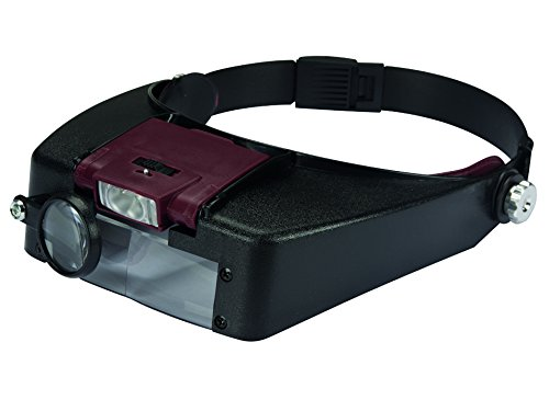 VS-ELECTRONIC - 167011 Kopfbandlupe mit LED-Leuchte VTMG13