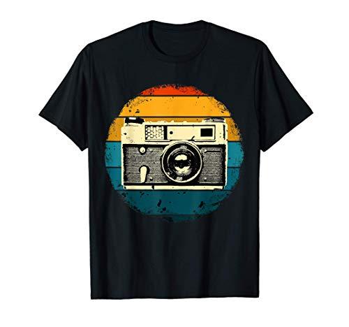 Fotógrafo Fotografía Cámara Vintage Regalo Camiseta