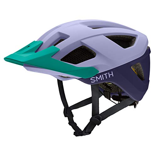 SMITH Session MIPS, Casco Bici Unisex Adulto, Matte Iris Indigo JA, Medium