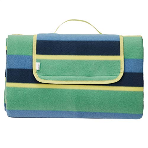 Amazon Basics - Manta para pícnic con base impermeable, 150 x 195 cm
