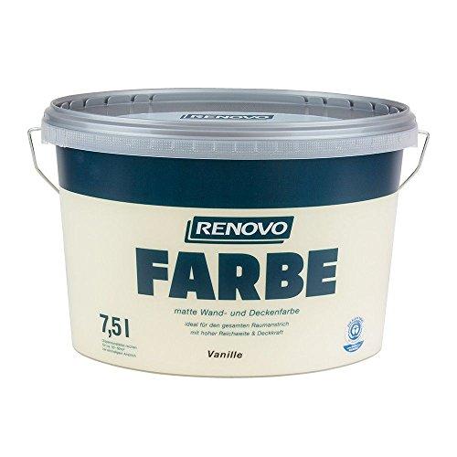 Farbe Vanille 1520 7,5 L Wand- und Deckenfarbe RENOVO
