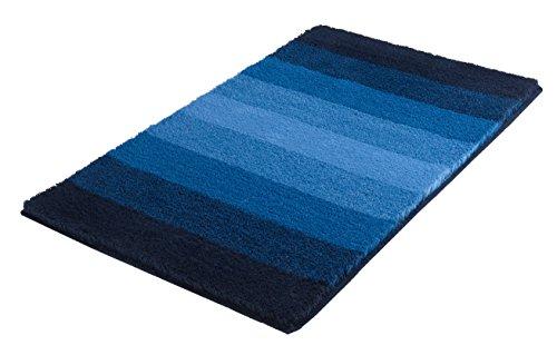 Kleine Wolke Badteppich Palace blau 60 x 100 cm
