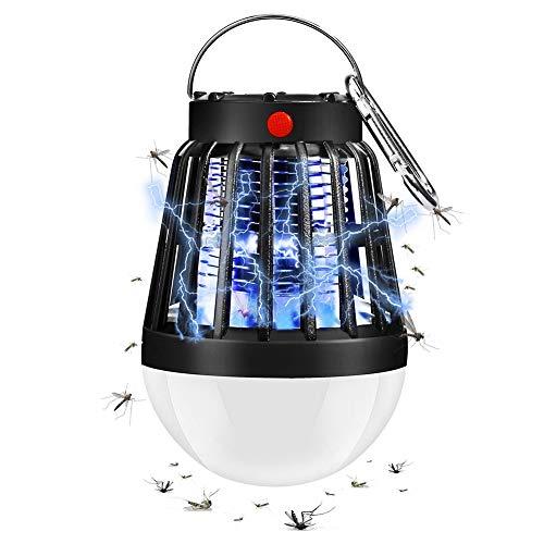 Yeelan Mosquito Killer Lámpara Camping Linterna Zapper Tienda Luz Insecto electrónico Matar...