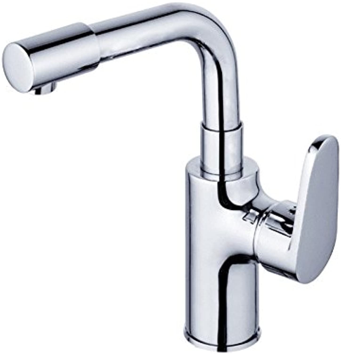 LHbox Basin Mixer Tap Bathroom Sink Faucet Single hole mixing of hot and cold water tap to turn the water full copper basin basin sinks faucets,