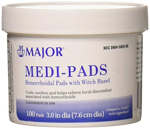 Medi-Pads Maximum Strength With Witch Hazel...