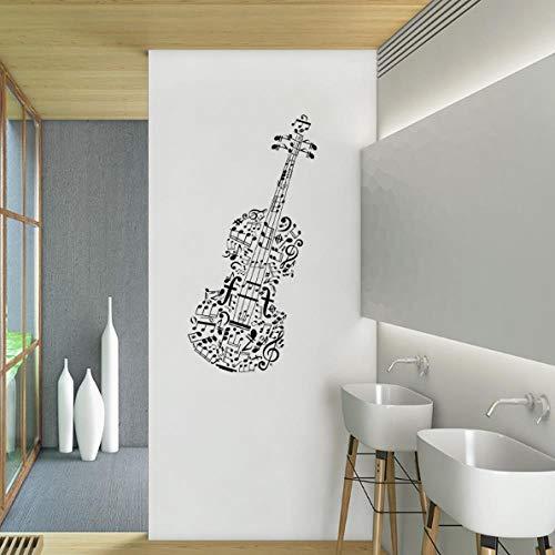 WGY Notas Musicales Etiqueta de la Pared para Sala de Estar Dormitorio Pared...