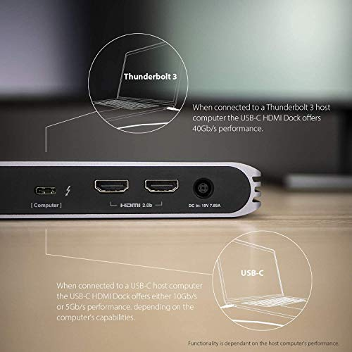41MNOvOabvL-「Caldigit USB-C/Thunderbolt 3 HDMI Dock」をレビュー。Chromebookでも使える万能ドック