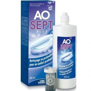 AO Sept plus Aosept Plus 'Pflege alle Arten von Kontaktlinsen' 360ml