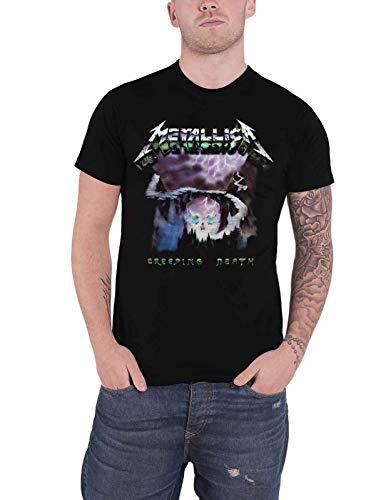 Metallica Men's T Shirt, Creeping Death, S to XXL