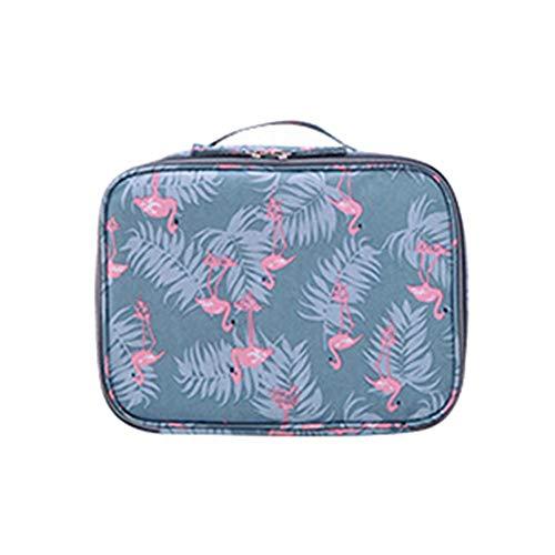 MSYOU lettre de voyage sac de toilette sac cosmétique pour hommes et femmes sac de bain imperméable pliable sac de rangement de voyage sac de voyage portable taille 18 * 24 * 9cm