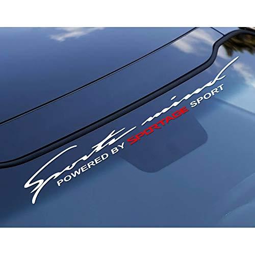 RelaxToday 2 StkAutoaufkleber reflektierende Vinyl Windschutzscheibe Heckscheibe Heckaufkleber Auto Dekoration Modellierung Aufkleber, Für Kia Sportage 3 4 QL