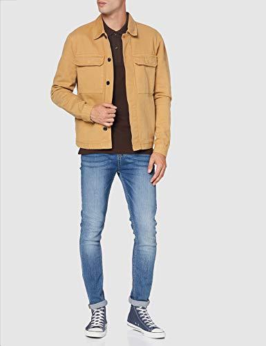 Lacoste Men's PH401200 Polo Shirt, Marron (TERREUX), M