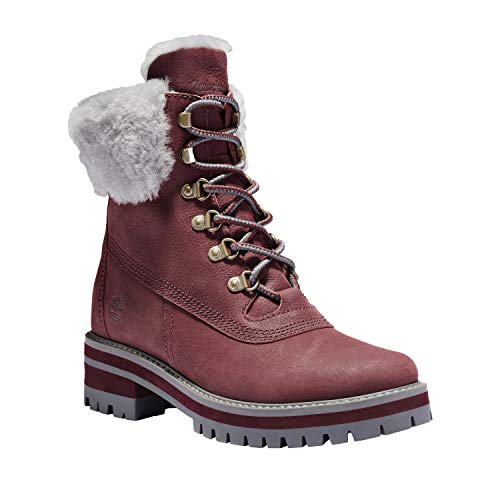 Timberland Women's Courmayeur Valley Wp 6in With Shearling