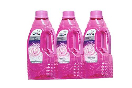 Nayasa Fontana Plastic Water Bottle 1500 ml Set of 3 Pink