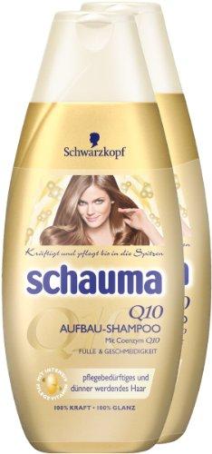 Schauma Q10 Shampoo 2er Pack (2 x 400 ml)
