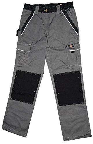 Dickies Bundhose Arbeitshose grau/schwarz IN30030 bk
