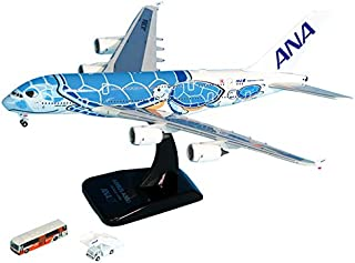 全日空商事 1/400 A380 JA381A GSEアクセサリー2点付 完成品 限定