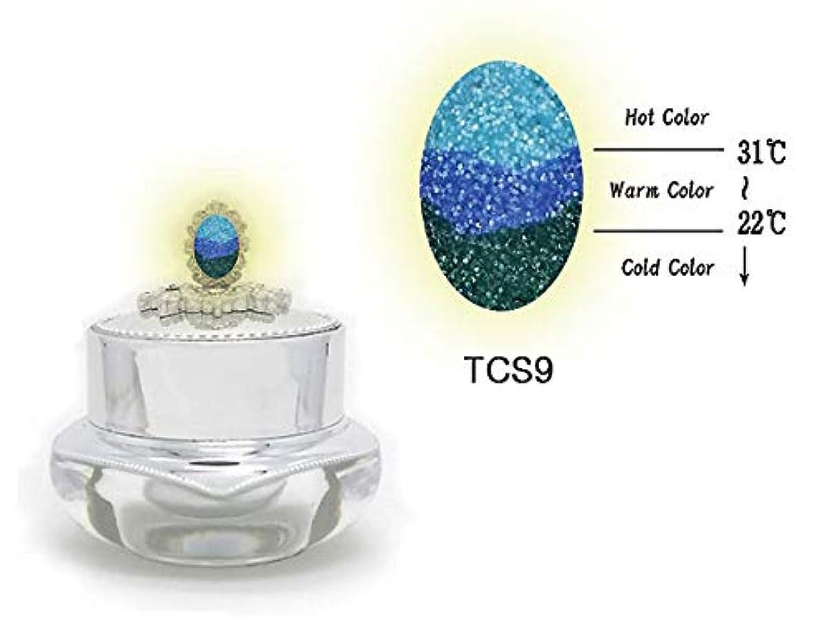 単独でペンス曲線KENZICO (ケンジコ) Triple Sugar Gel一般用3g 【TCS9】 3つの色に変わる夜光ジェル トリプルシュガージェル