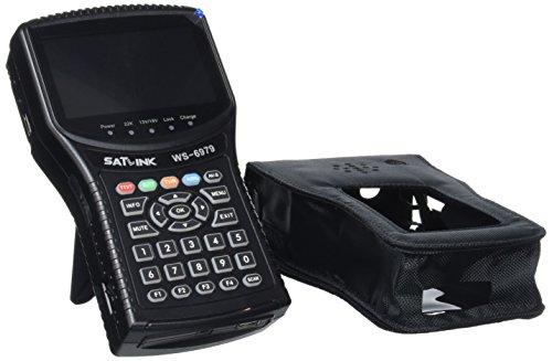 SATLink WS-6979 - Medidor de señal (Compatible con DVB-S, DVB-S2, DVB-T, DVB-T2 y HDTV) (Importado)