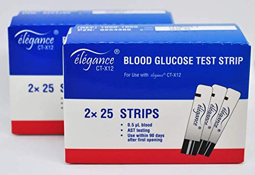 élégance CT-X12 Blutzucker Teststreifen (100 Stück)