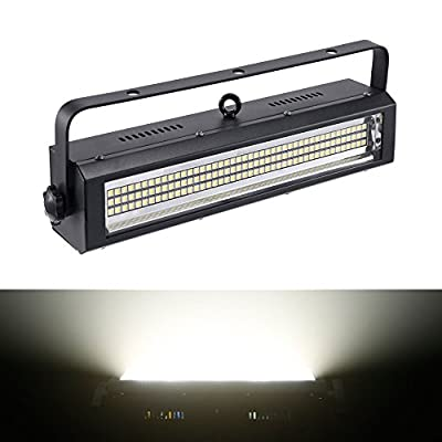 Strobe Light, MFL S100 132LED White bright Stage Lighting Strobe Blinder and Wash Light DJ Disco Lights Sound Activated Modes DMX control All in One for Dj Party Stage Live Concert by MFL.