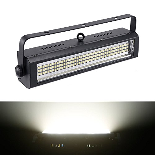 Strobe Light, MFL S100 132LED White bright Stage Lighting Strobe Blinder and Wash Light DJ Disco Lights Sound Activated Modes DMX control All in One for Dj Party Stage Live Concert