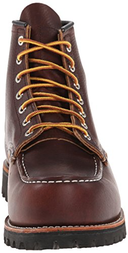 Classic Work Moc Toe briar oil slick, Rouge, 44
